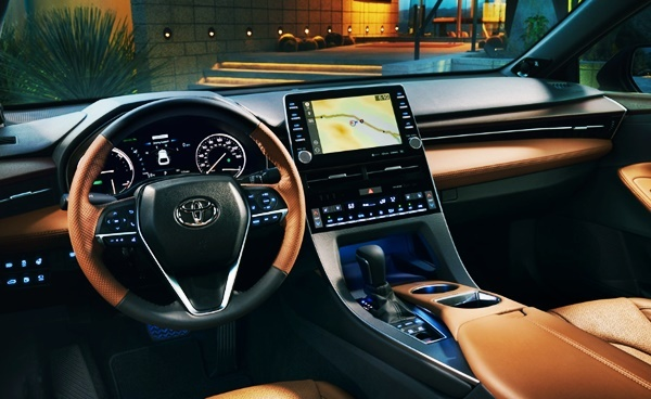 2022 Toyota Avalon Hybrid Interior