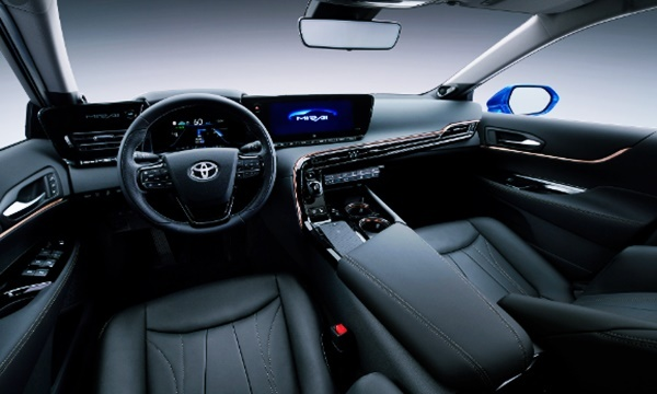 2022 Toyota Mirai Interior