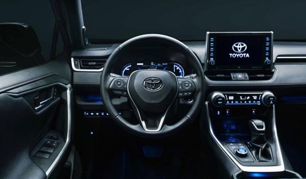 2023 Toyota RAV4 Interior