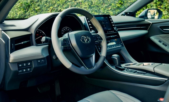 2022 Toyota Avalon XLE Interior