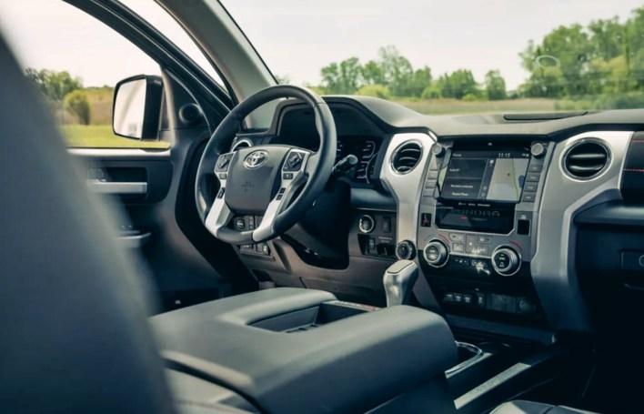 2022 Toyota Tundra Platinum CrewMax Interior