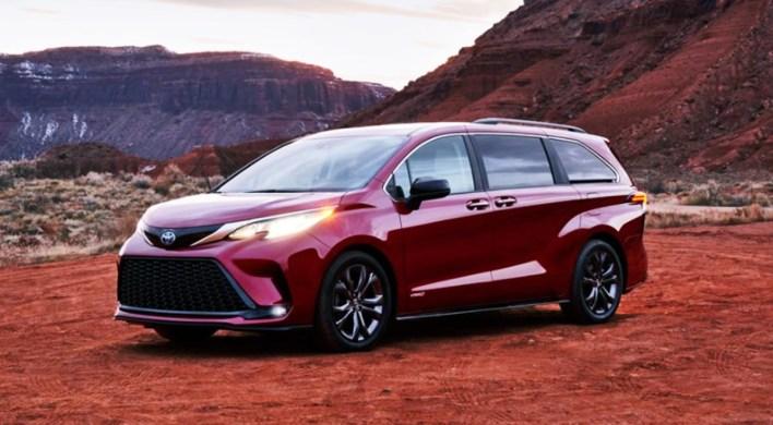 2023 Toyota Sienna Exterior