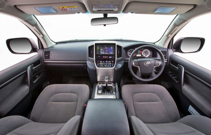 2023 Toyota Land Cruiser Prado Interior