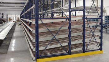 carton flow rack warehouse storage
