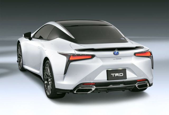 2018 Lexus LC TRD rear view