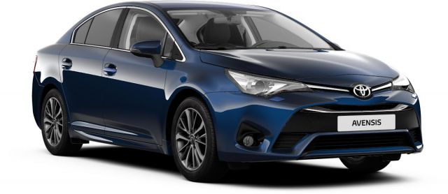 2018 Toyota Avensis front