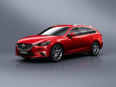 2018 Mazda 6 Station Wagon front