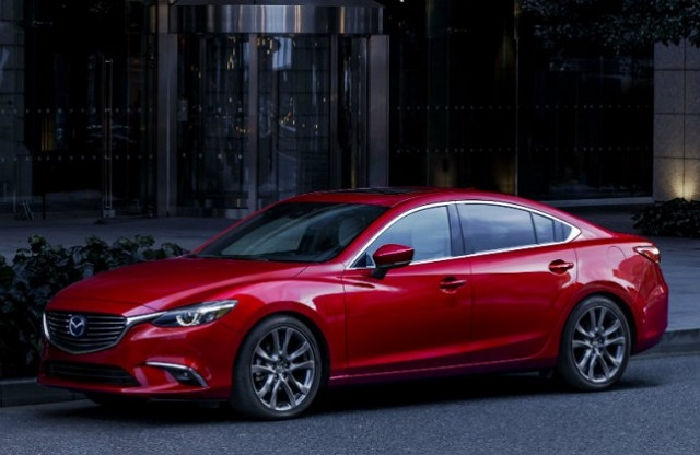 2018 mazda 6 front view