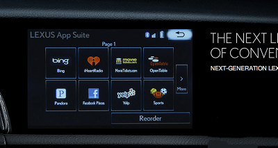 Lexus Enform Infotainment System