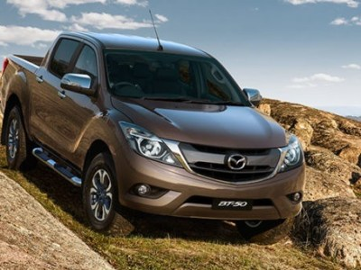2018 mazda bt-50 front view
