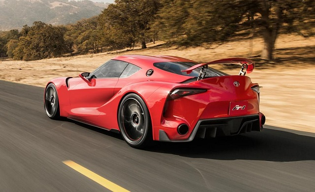 2018 toyota ft-1 rear view