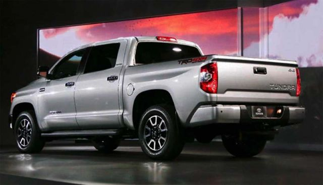 2018 Toyota Tundra diesel  towing capacity price mpg engine