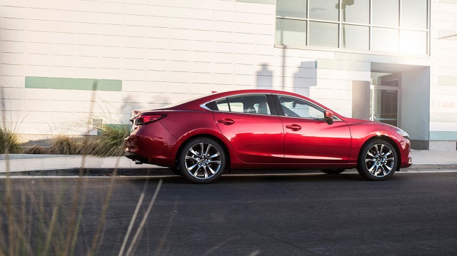 2017.5 Mazda 6 side view