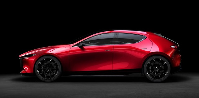 2019 Mazda 3 comes with Kai Concept side view