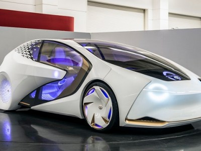 2020 Toyota Concept-i - self-driving electric car