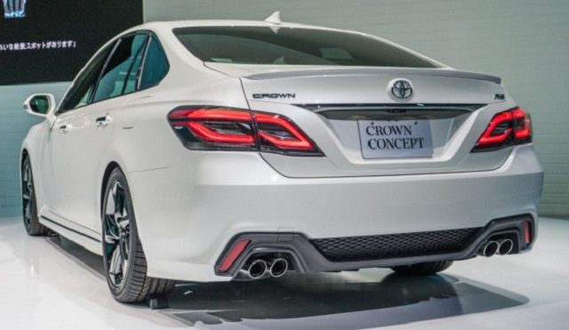 Toyota Crown Concept rear view