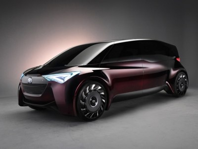 Toyota Fine-Comfort Ride Fuel-Cell Concept