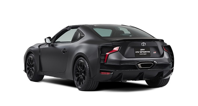 Toyota GR HV Sports Concept is actually 86 hybrid with Targa Top
