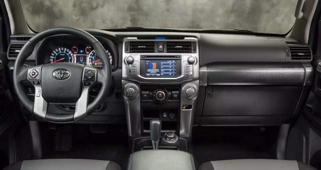 2019 Toyota 4Runner interior dashboard