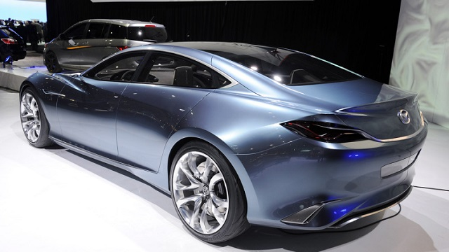 2020 Mazda 6 New Generation based on Shinari Concept rear view