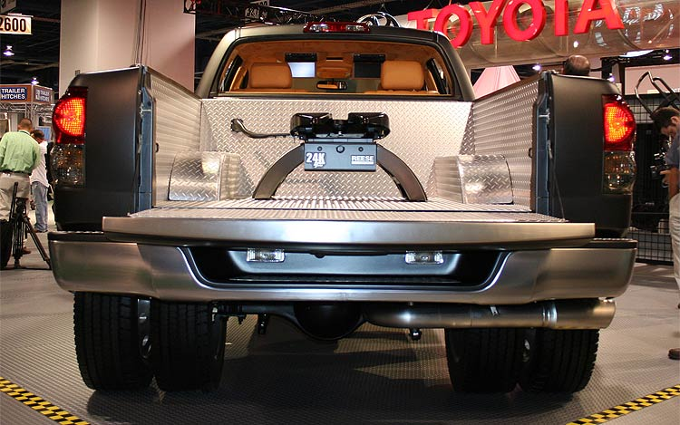 Toyota Tundra Dually Diesel Concept rear view