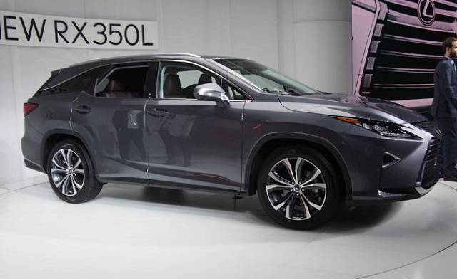 2019 Lexus RX L Three-Row 7-Seat Luxury Crossover