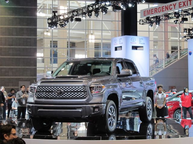 2019 Toyota Tundra diesel front