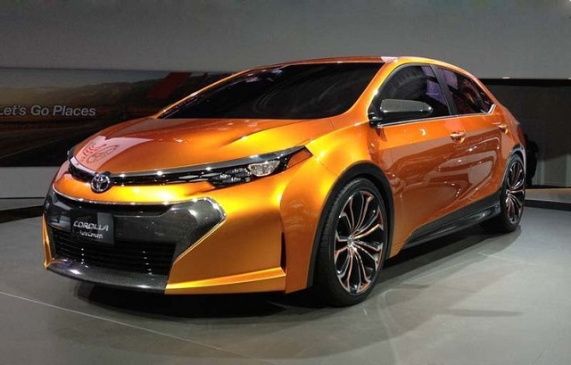 2020 toyota corolla front view