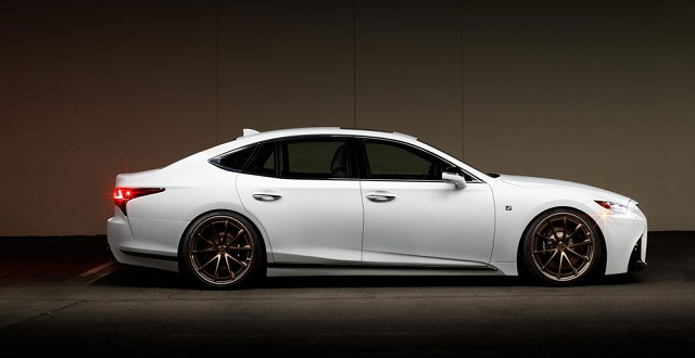 2018 Lexus F Sport side view