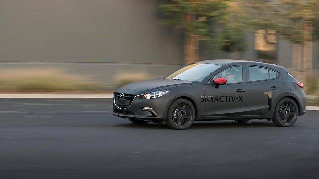 Mazda new generation SKYACTIV-X engine clean almost like EV