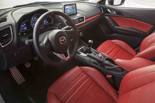 2019 Mazdaspeed 3 interior