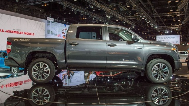 2019 Toyota Tundra Diesel side view