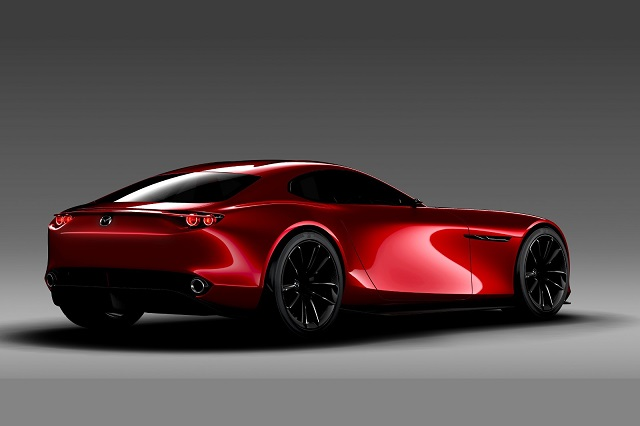2020 Mazda Miata rear view