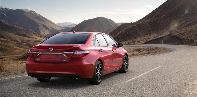 2020 Toyota Camry rear view