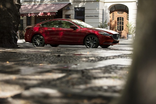2019 Mazda 6 AWD side view