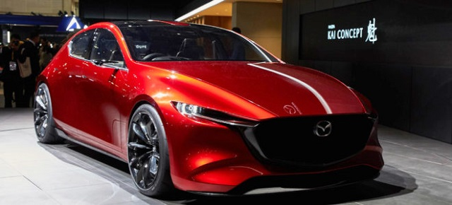 2020 Mazda 3 front view