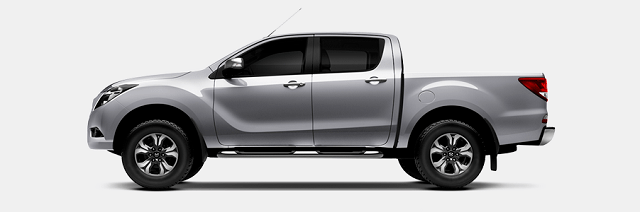 2020 Mazda BT-50 side view