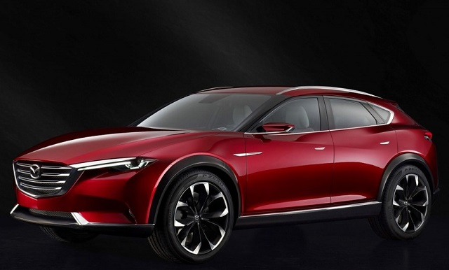 2021 Mazda CX-9 side view