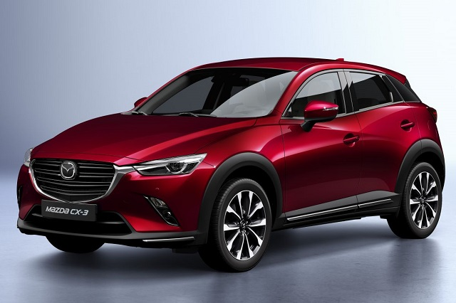 2020 Mazda CX-3front view