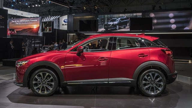 2020 Mazda CX-3 side view