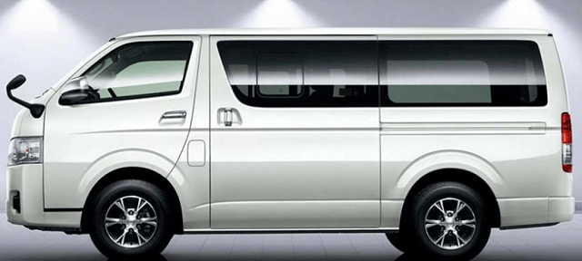 2019 Toyota HiAce side view