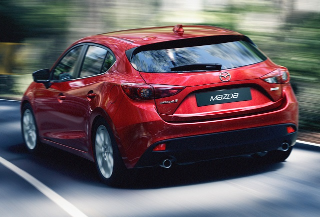 Mazda 3 MPS rear view