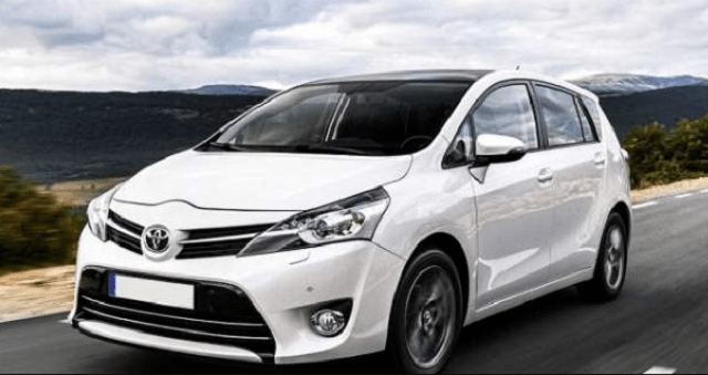 2019 Toyota Wish front view