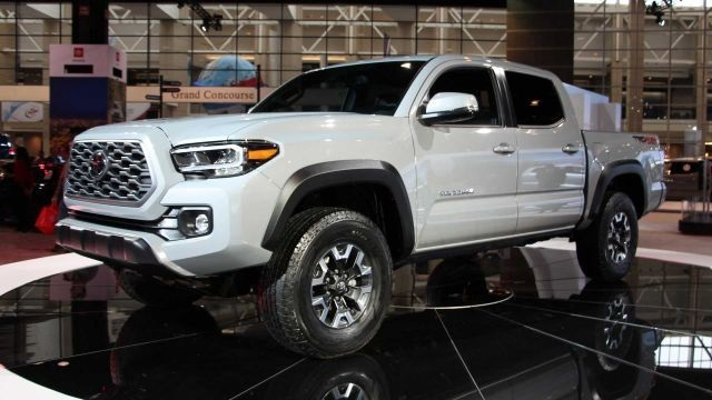 2020 Toyota Tacoma Diesel side view