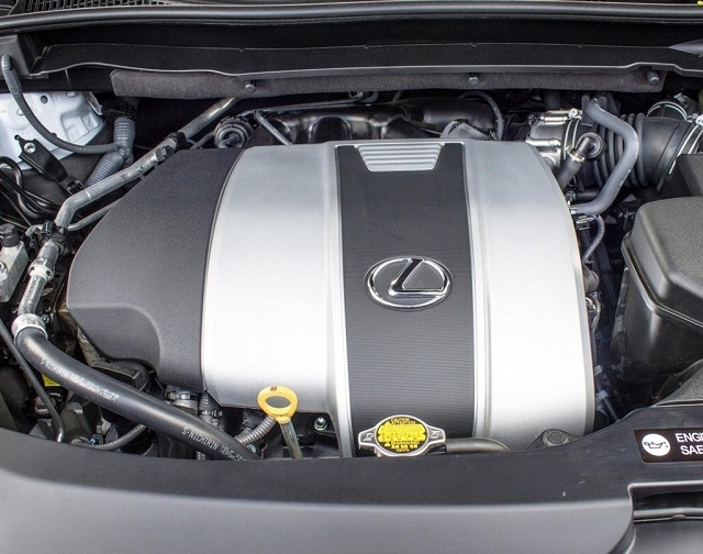 2020 RX 350 engine