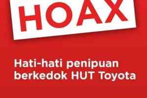 Hoax Link Ultah 50 tahun Toyota