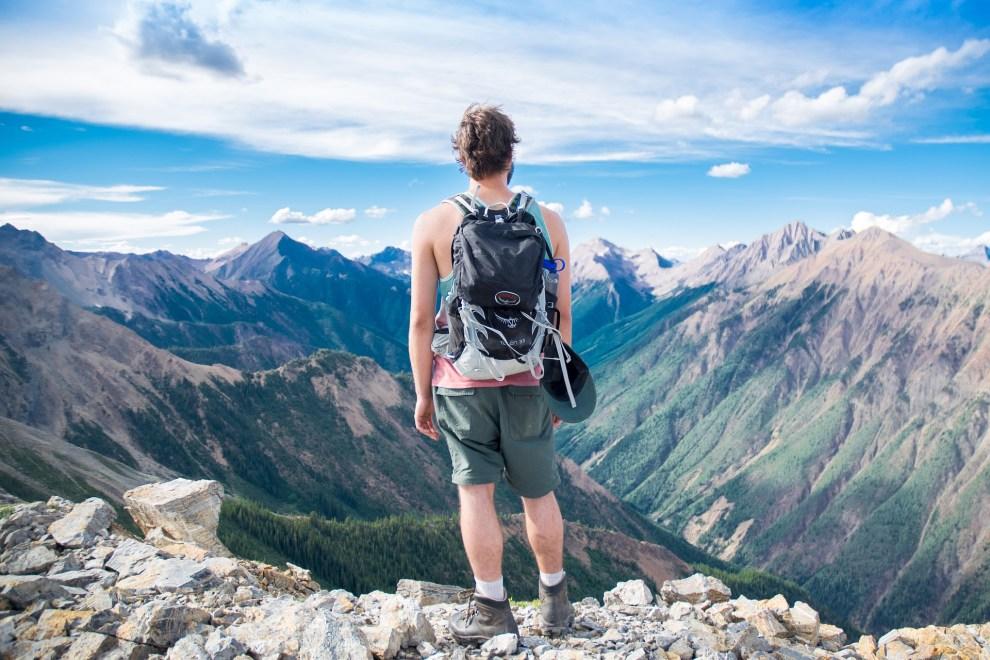 landscape adventure mountain uomo aventura hombre panorama paisaje paesaggio uomo aventura