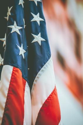 bandera americana bandiera