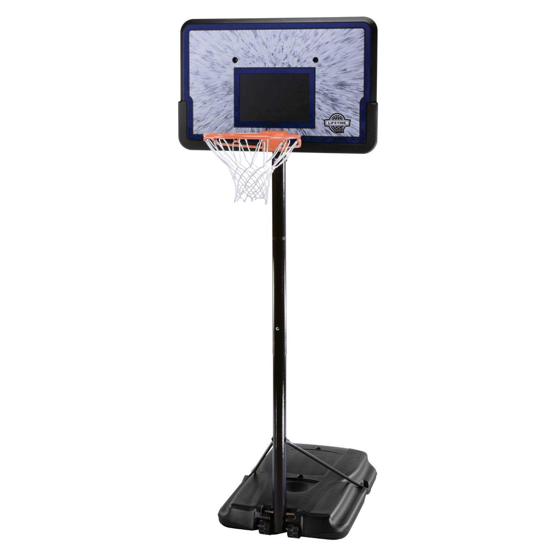 71vXY02jUAL. SL1500  - Lifetime 1221 Pro Court Height Adjustable Portable Basketball System, 44 Inch Backboard