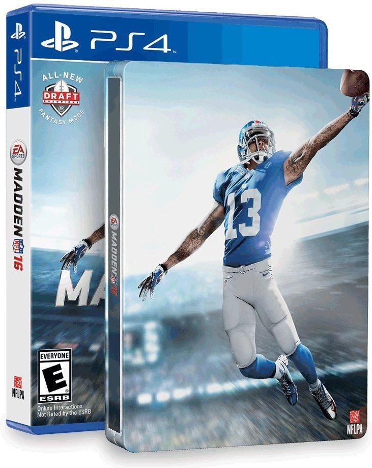 61HPOIq WTL. AC SL1000  - Madden NFL 16 & SteelBook (Amazon Exclusive) - PlayStation 4